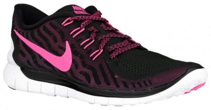 Nike Free 5.0 2015 Schwarz/Rosa Folie/Rosa Glühen/Rosa Pow Damen Schuhschaft