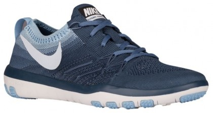 Nike Free Tr Focus Flyknit Damen Turnschuhe Geschwader Blau/Blau Tönung/Blaucap/Ozean Fog