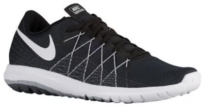 Nike Flex Fury 2 Schwarz/Wolf Grau/Dunkel Grau/Weiß Damen Laufschuh