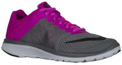Nike Fs Lite Run 3 Dunkel Grau/Hyper Violett/Wolf Grau/Schwarz Damen Laufschuh