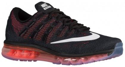 Nike Air Max 2016 Herren Running Schuhe Schwarz/Gesamt Crimson/Geschwader Blau/Weiß