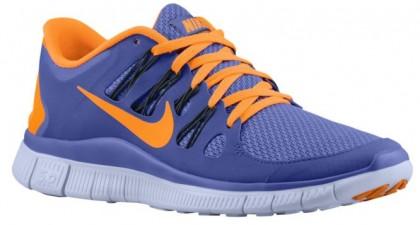 Nike Free 5.0+ Violett Force/Anthrazit/Palest Perle/Zitrusfrucht Damen Schuhschaft