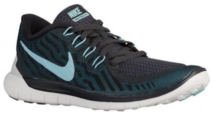 Nike Free 5.0 2015 Anthrazit/Schwarz/Blau Lagoon/Copa Damen Running Schuhe