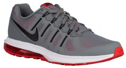 Nike Air Max Dynasty Cool Grau/Licht Crimson/Weiß/Schwarz Herren Running Schuhe