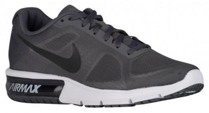 Nike Air Max Sequent Herren Sneakers Dunkel Grau/Weiß/Schwarz/Metallic Hämatit