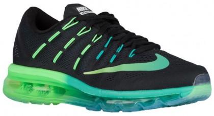 Nike Air Max 2016 Schwarz/Midnacht Türkis/Deutlich Jade/Mehrfarbig Damen Running Schuhe