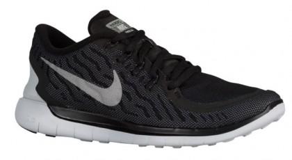 Nike Free 5.0 2015 Flash Damen Runningschuh Schwarz/Cool Grau/Rein Platin/Reflektierend Silber