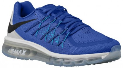 Herren Nike Air Max 2015 Game Royal/Weiß/Blau Lagoon/Schwarz Sneakers