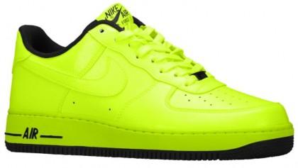 Nike Air Force 1 Low Herren Sportschuheschuhechuhe. Volt/Schwarz