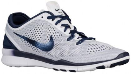Nike Free 5.0 Tr Fit 5 Weiß/Midnacht Marine Damen Trainingsschuhe