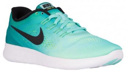 check out d5b22 a1dee Nike Free Rn Herren Laufschuh Hyper Türkis Rio Knickente Volt Schwarz