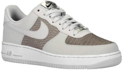 Nike Air Force 1 Low Licht Asche Grau/Weiß Herren Sportschuhe