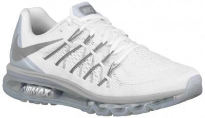 Nike Air Max 2015 Herren Sneakers Weiß/Metallic Silber/Rein Platin