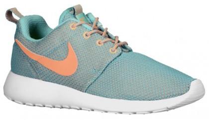 Nike Roshe One Damen Runningschuh Diff Jade/Med Orewood Braun/Weiß/Atomar Orange