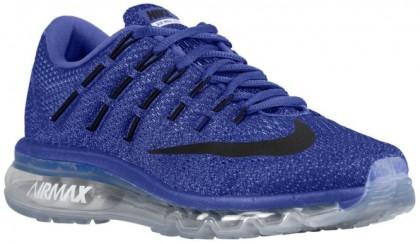 Nike Air Max 2016 Rennfahrer Blau/Kreide Blau/Blau Tönung/Schwarz Damen Running Schuhe