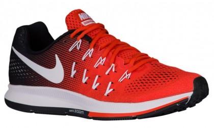 Nike Air Zoom Pegasus 33 Team Orange/Weiß/Schwarz/Rein Platin Herren Running Schuhe