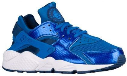Nike Air Huarache Blau Funke/Küsten Blau Damen Sportschuhe