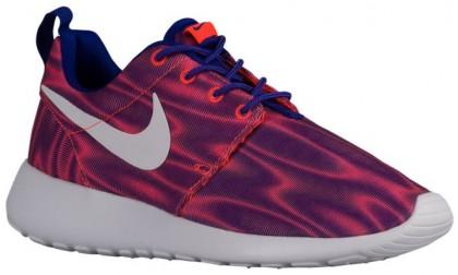 Nike Roshe One Print Premium Gesamt Crimson/Eintracht Damen Laufschuhe