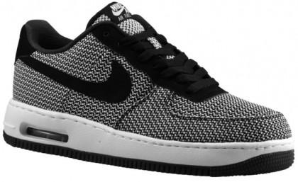 Herren Nike Air Force 1 Low Elite Textile Weiß/Schwarz Trainers