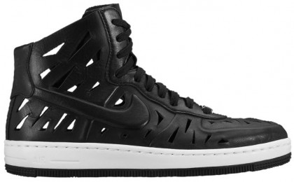 Damen Nike Air Force 1 Ultra Force Mid Schwarz/Weiß Sneakers