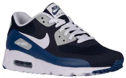 Nike Air Max 90 Ultra Essential Herren Turnschuhe Obsidian/Weiß/Küsten Blau/Wolf Grau