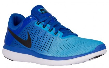 Nike Flex Rn 2016 Herren Sneakers Rennfahrer Blau/Blau Glühen/Weiß/Schwarz