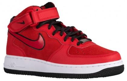 Nike Air Force 1 '07 Mid Suede University Rot Damen Sportschuhe