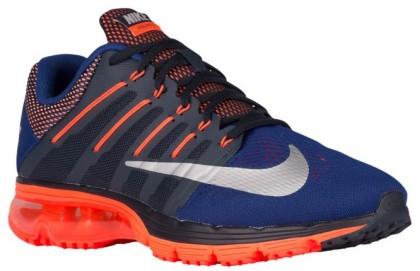 Nike Air Max Excellerate 4 Dunkel Obsidian/Dunkel Royal Blau/Metallic Silber Herren Running Schuhe