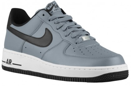 Herren Nike Air Force 1 Low Cool Grau/Schwarz/Weiß Trainers