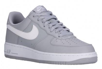 Herren Nike Air Force 1 Low Grau/Weiß Sneakers