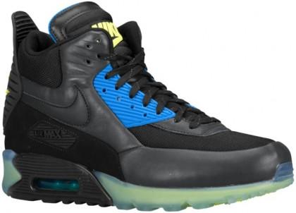 Nike Air Max 90 Sneakerboot Schwarz/Dunkel Asche/Foto Blau Herren Sneakerboot