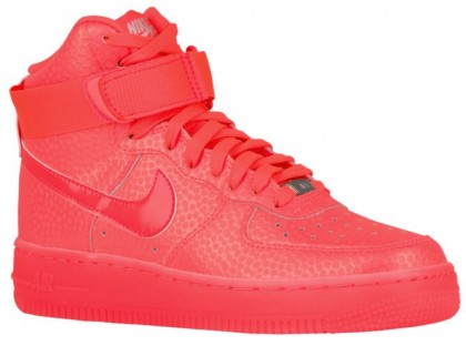Nike Air Force 1 Mid Damen Basketball Shoes Hot Lava