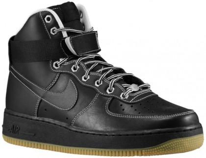 Nike Air Force 1 High Schwarz/Weiß/Metallic Silber Herren Sneakers