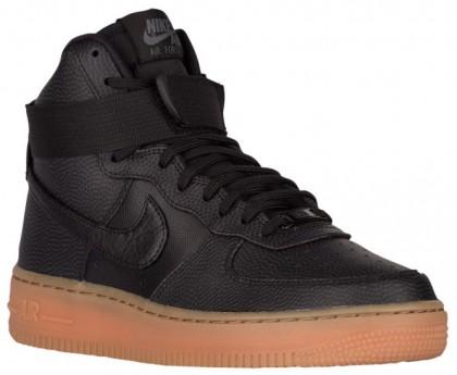 Damen Nike Air Force 1 High Se Schwarz/Dunkel Grau/Braun Trainers